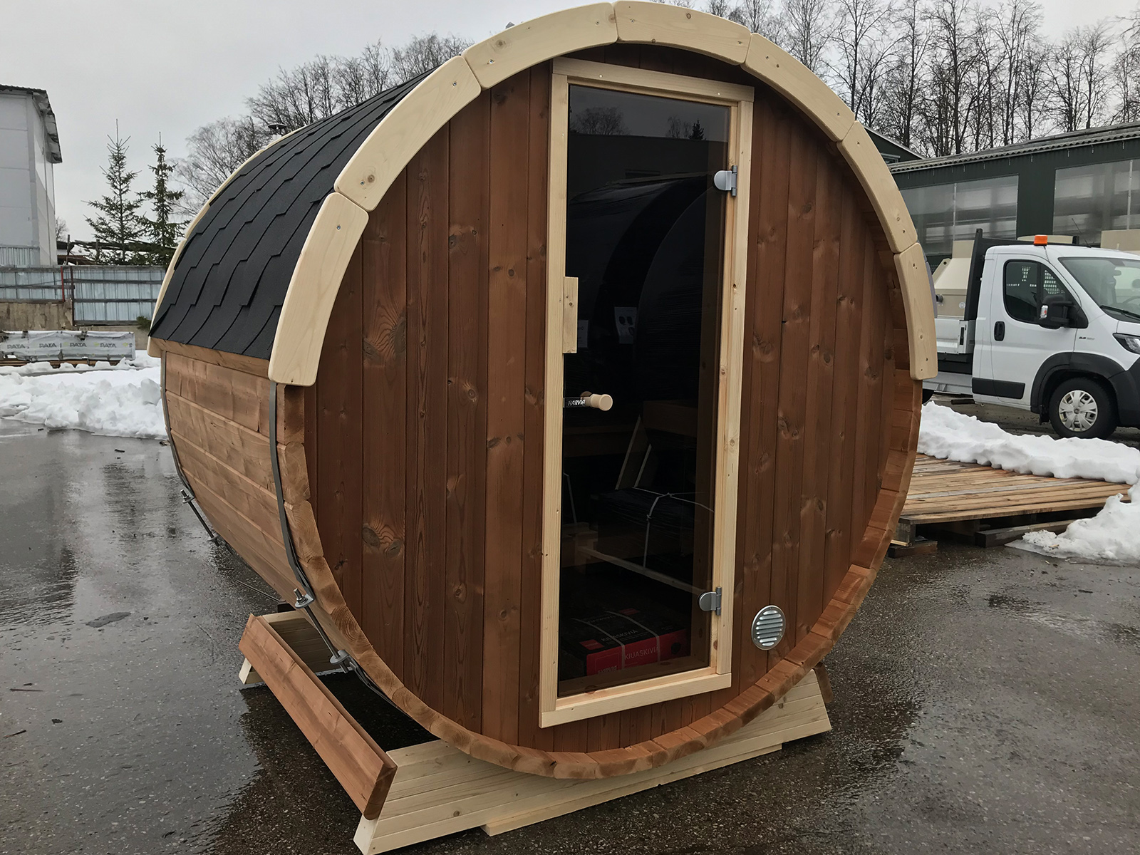 Terasine Sauna